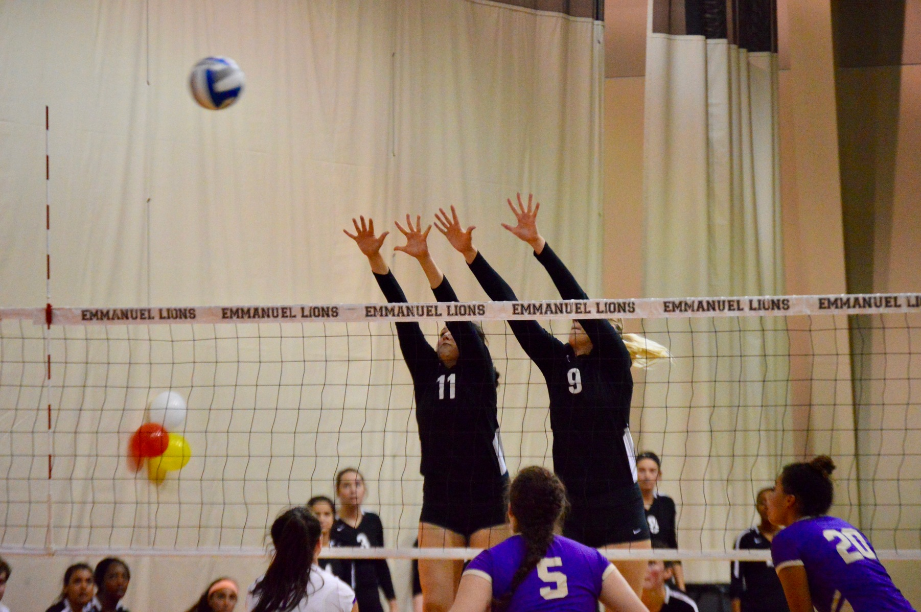 Volleyball Takes Down Converse College in Four