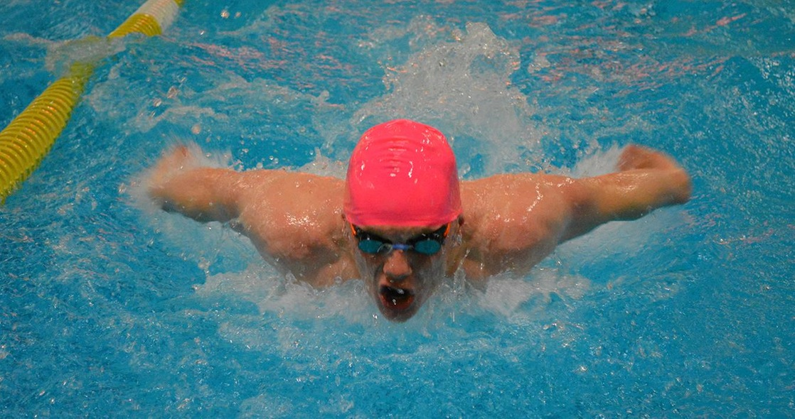 Alin Breaks His Own Record in 100-Yard IM for Men's Swimming at OWU Invitational