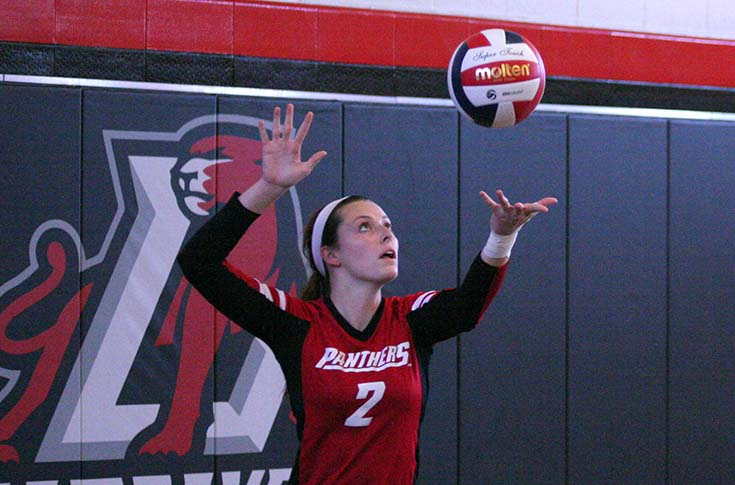 Volleyball: Panthers down Huntingdon in five sets to gain split of USA South matches
