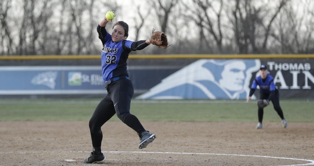 DeDreu Ties All-Time Pitching Record in Split at DePauw