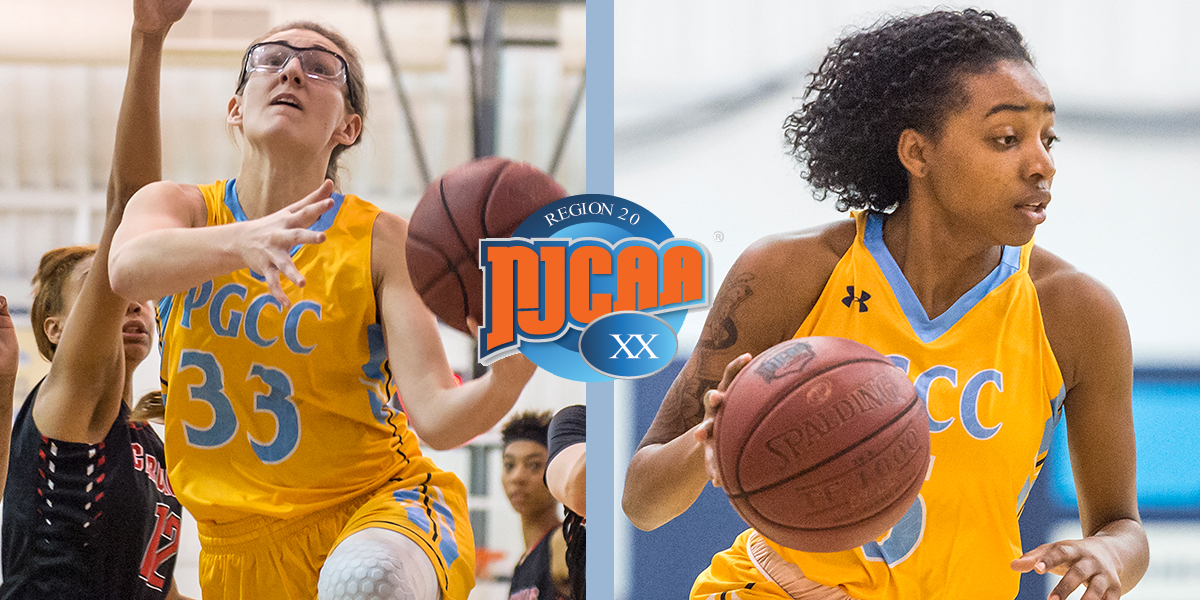 Seifert And Strong Nab All-NJCAA Region XX Division III Honors For Prince George's Women's Basketball