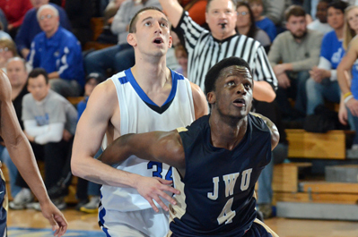 Saint Joseph's Falls to Johnson & Wales in GNAC Championship