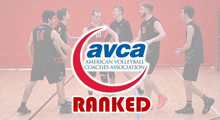 Men's Volleyball Ranked 11th In National Poll