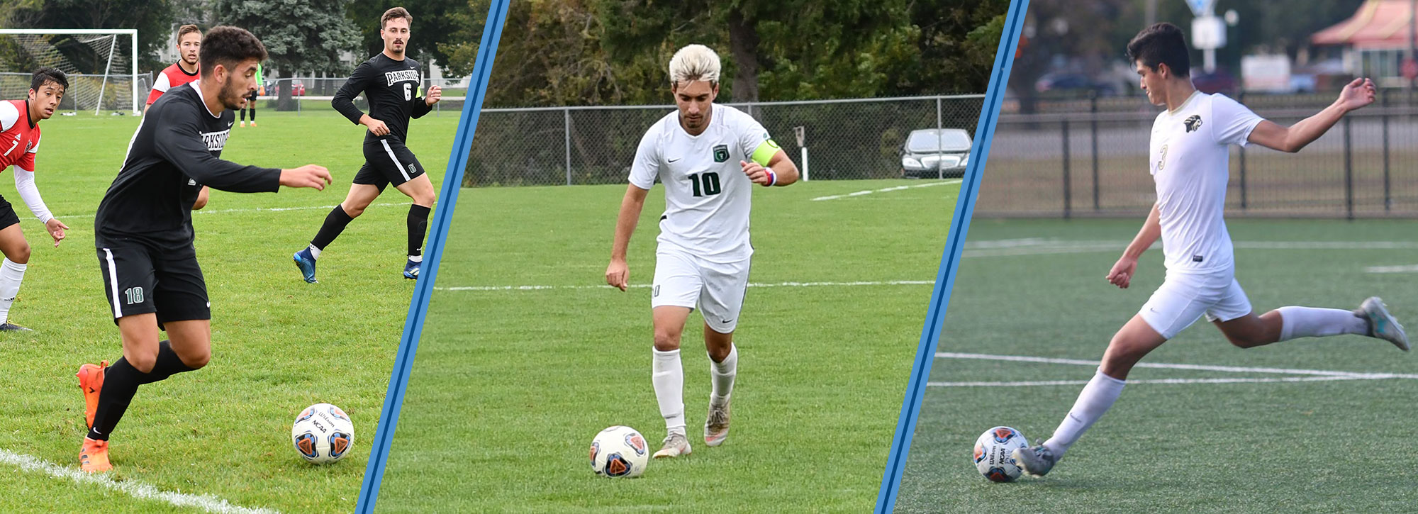 Parkside's Prpa & Krecak, Purdue Northwest's Ugarte Named Google Cloud Men's Soccer Academic All-District Selections