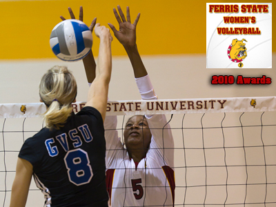 2010 Ferris State Volleyball Awards Presented At Banquet