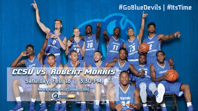 Men's Basketball Hosts Robert Morris on Saturday Afternoon