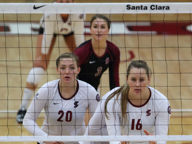 Volleyball Hosts Rival No. 25 Saint Mary's Thursday, Travel to No. 14 San Diego Saturday
