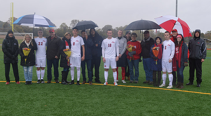 Men's Soccer Drops One-Goal Game On Senior Day