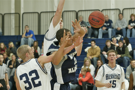 Clutch Free Throws Lead Behrend Over Muskingum