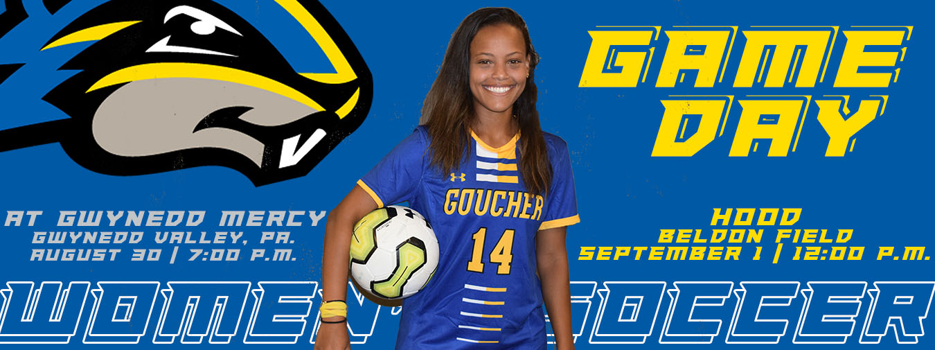 Goucher Women's Soccer Opens Season On The Road; First Home Game On Sunday