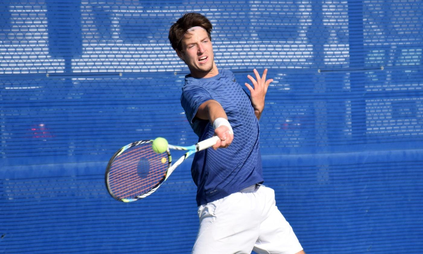 Men's tennis team takes care of ranked NCAA Division III school