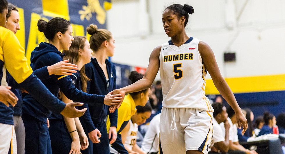 DOMINGO JOINS 1000-POINT CLUB AS HUMBER BREAKS OCAA RECORD
