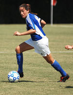 Early Goal Stands-Up as Gauchos Post Exhibition Shutout Over Cal State Dominguez Hills, 1-0