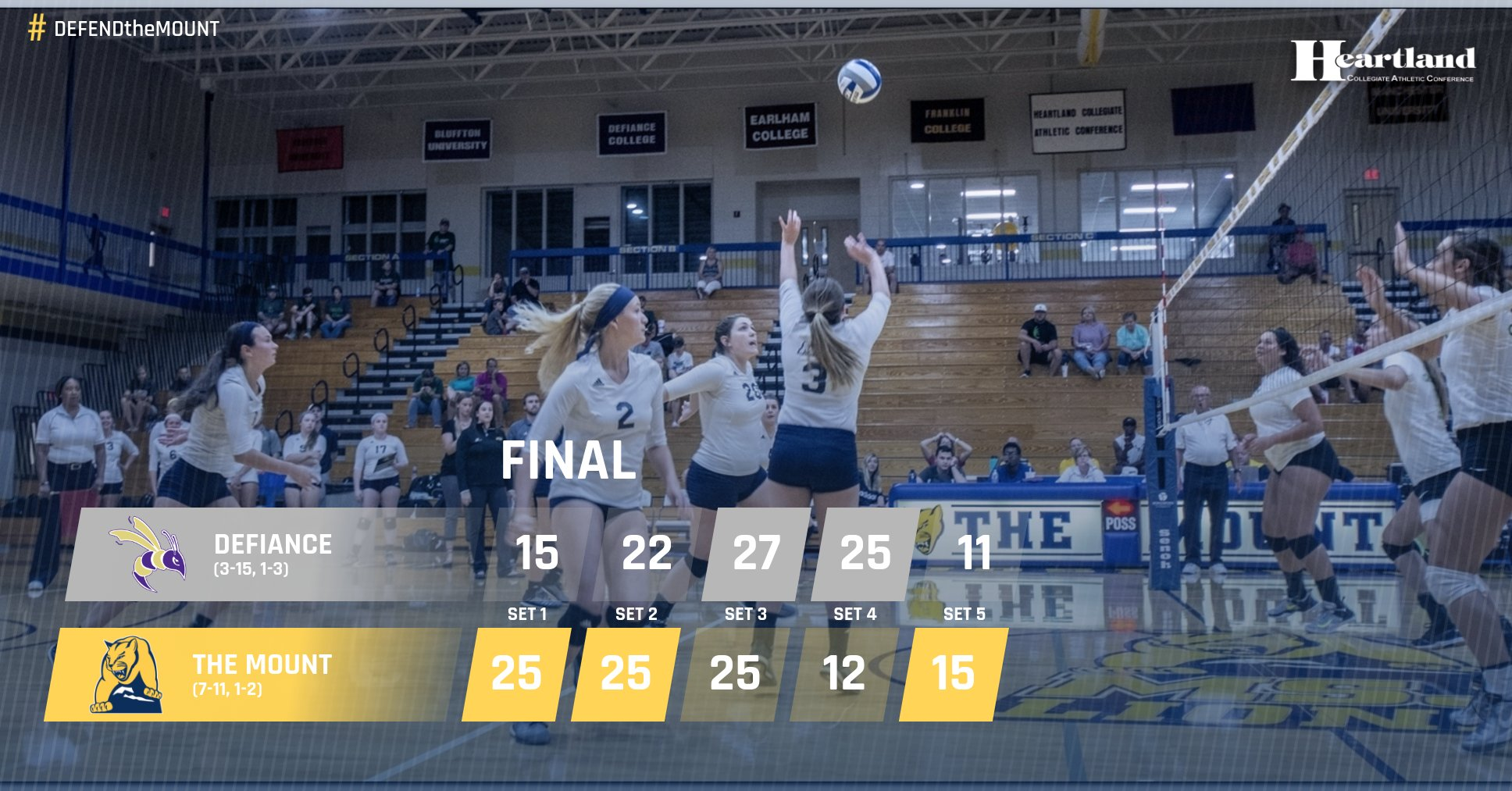 Lions defeat Defiance College for first conference win