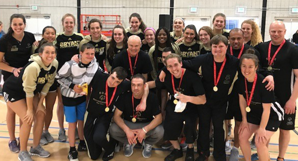 Volleyball hosts Special Olympics R.I. in annual tournament