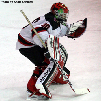 Men's Hockey Completes Weekend Sweep with 2-0 Shutout Over St. Mary's
