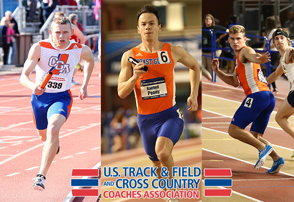 Penny, Frystak and Taminger earn USTFCCCA All-Academic Honors