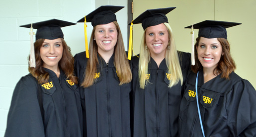 Spring commencements include 60 students from Athletics