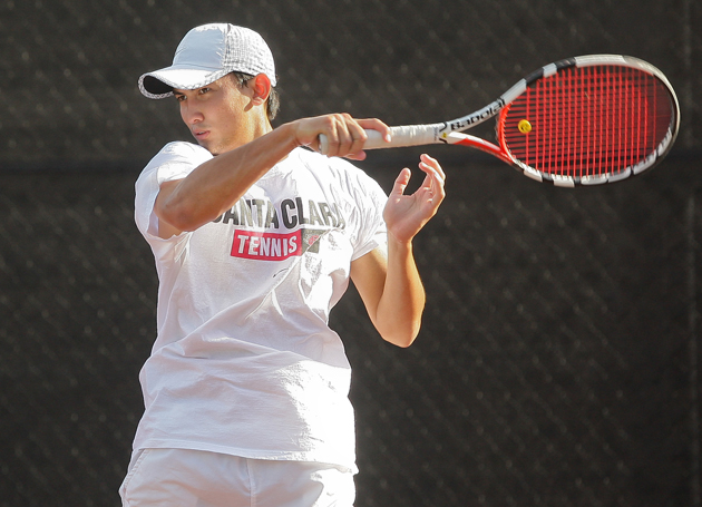 No. 49 Men's Tennis Continues to Build Strong Record at Home, Dropping No. 46 Idaho 6-1