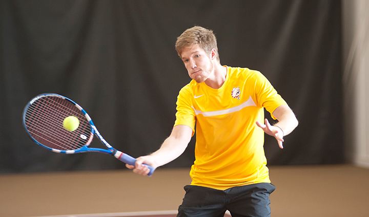 Men's Tennis Opens Homestand With Decisive GLIAC Win
