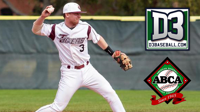 Trinity Falls to Eighth in ABCA; 11th in D3baseball.com Polls.