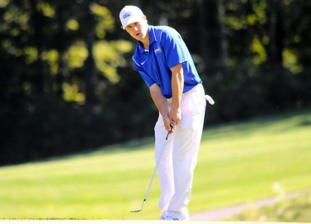 After First Round, Men's Golf 7th at Towson