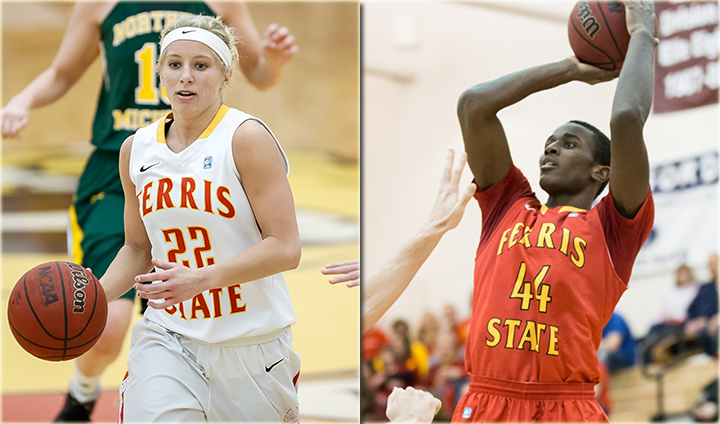 Ferris State Basketball Hosts Rival GVSU & SVSU This Week In League Play