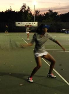 Wellesley Tennis Tops Wheaton 5-0; Advances to NEWMAC Championships