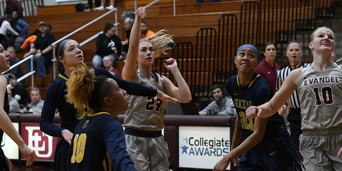 Evangel Women Earn Third Straight Win With Second Half Defense vs Graceland