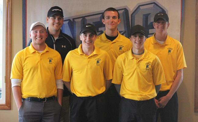 The Keuka College men's golf team concluded the 2013-14 season with a sixth-place finish at the annual NEAC championships (photo courtesy of Carly Volante, Keuka College Sports Information Department).