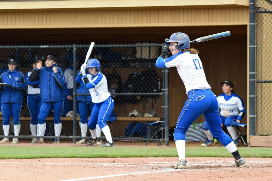 Autumn Brown had an RBI in game one (Julia Monaco).