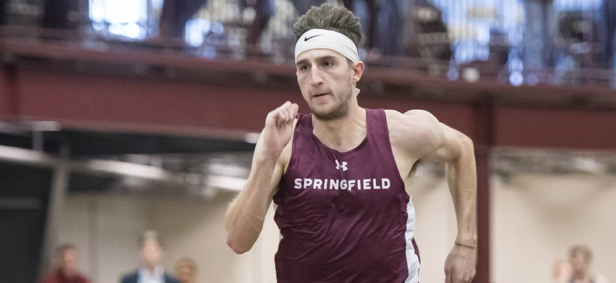 Hansen Wins 200 Meter Dash to Lead Men's Track and Field at Tufts National Qualifying Meet