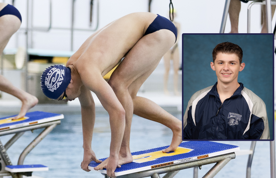 Geneseo's Eng and Wirth honored as Men's Swimming & Diving Athletes of the Week