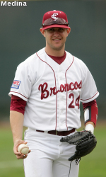 Matt Long, Second Bronco Selected In 2009 MLB Draft