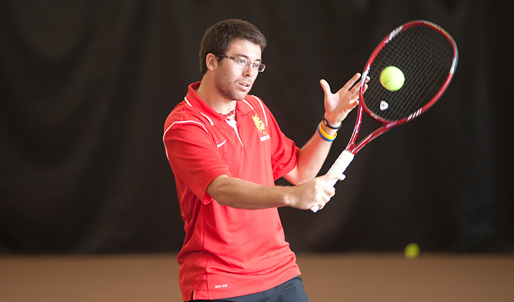 Men's Tennis Rolls Past Malone To Remain Atop GLIAC Standings