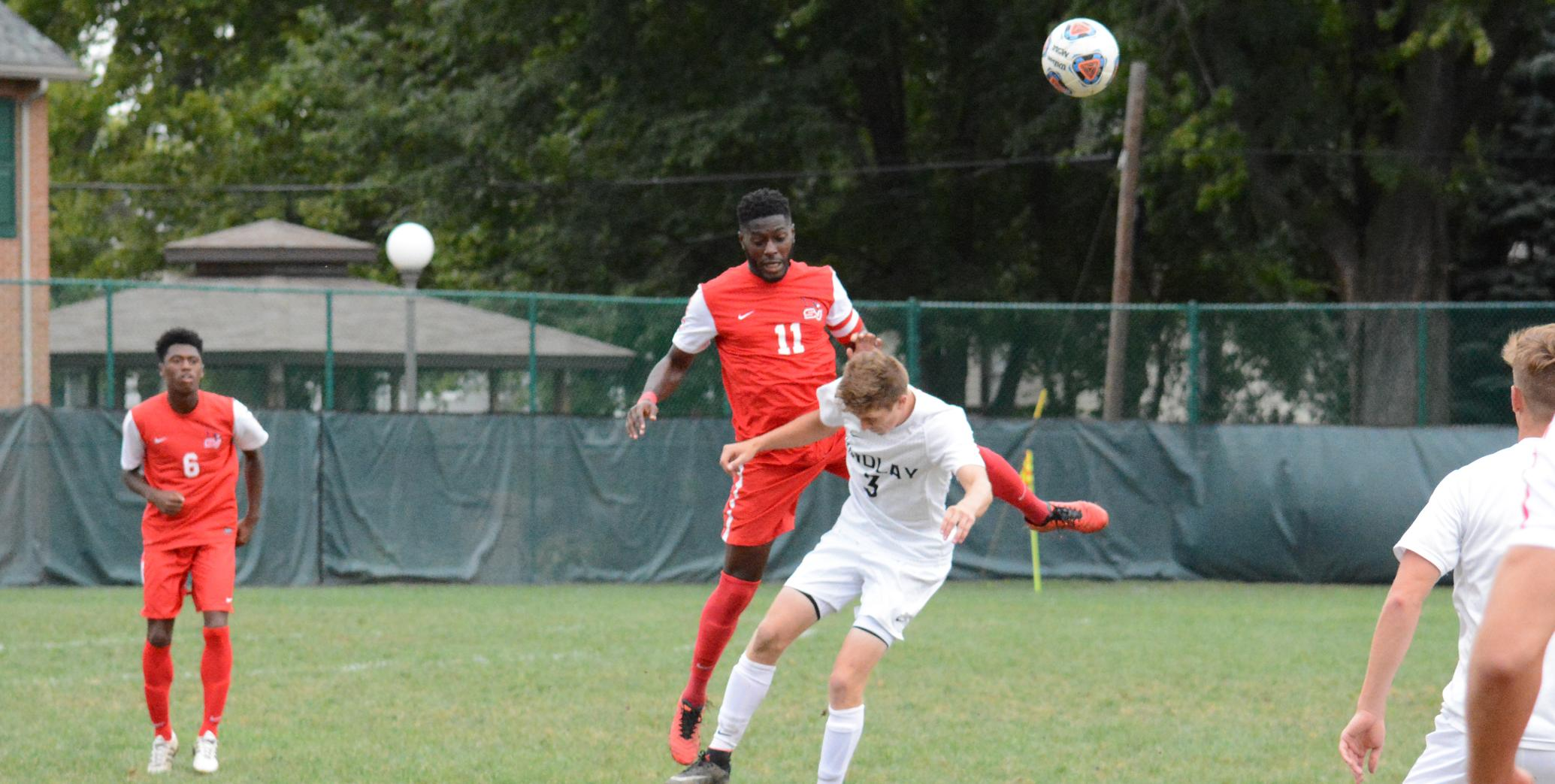 Men's Soccer drops overtime contest at Findlay, 3-2