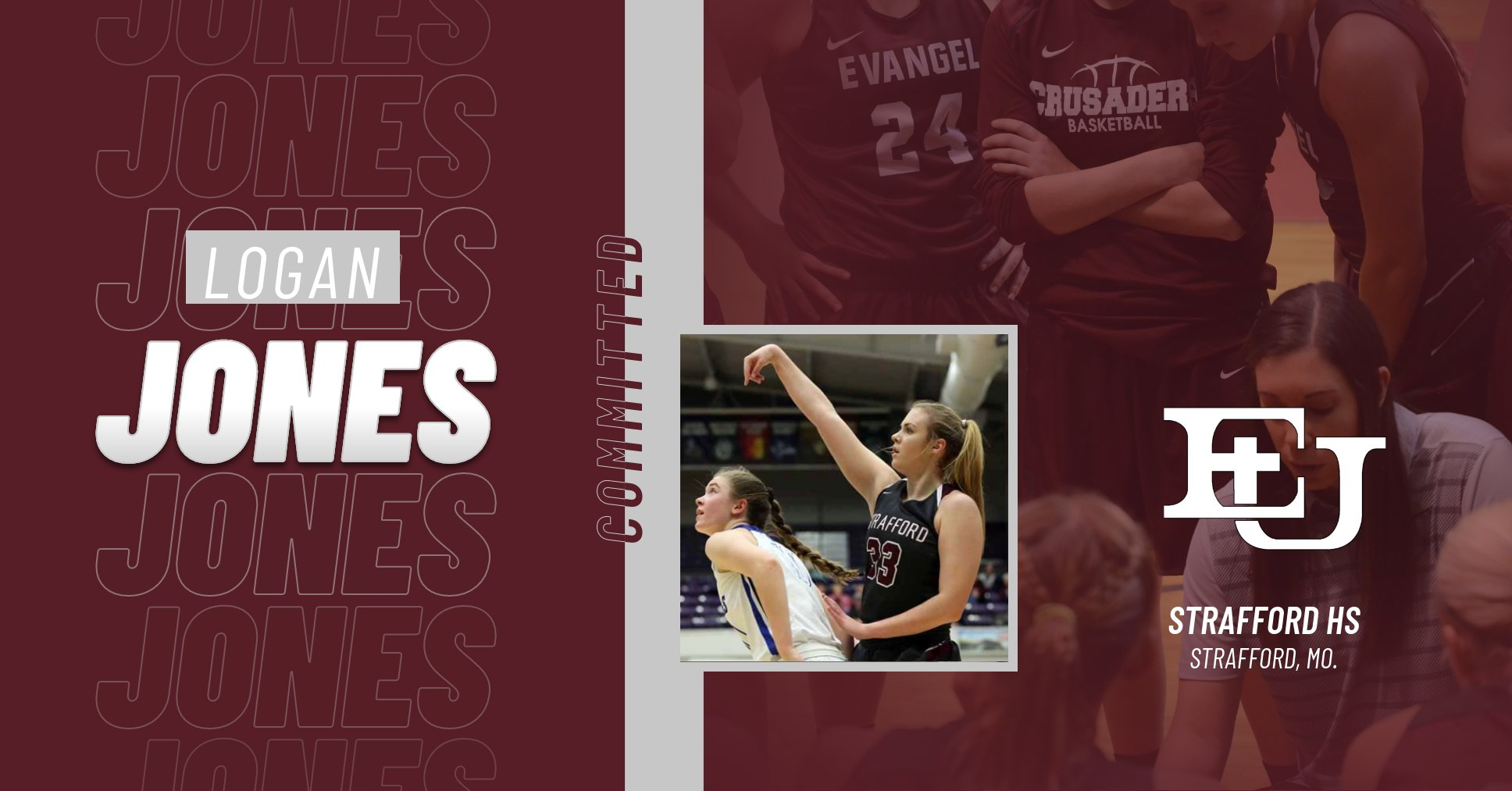 Two-Sport Standout Logan Jones to Join Evangel Women's Basketball for 2020