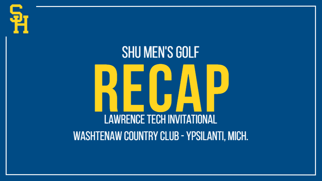 Men's Golf Kicks Off Season Tied for Second Place at Lawrence Tech Invitational