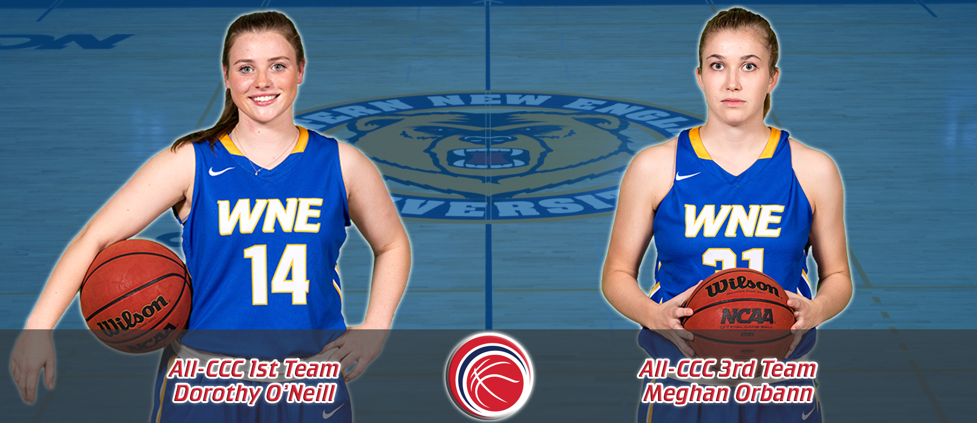 O'Neill & Orbann Receive All-CCC Recognition