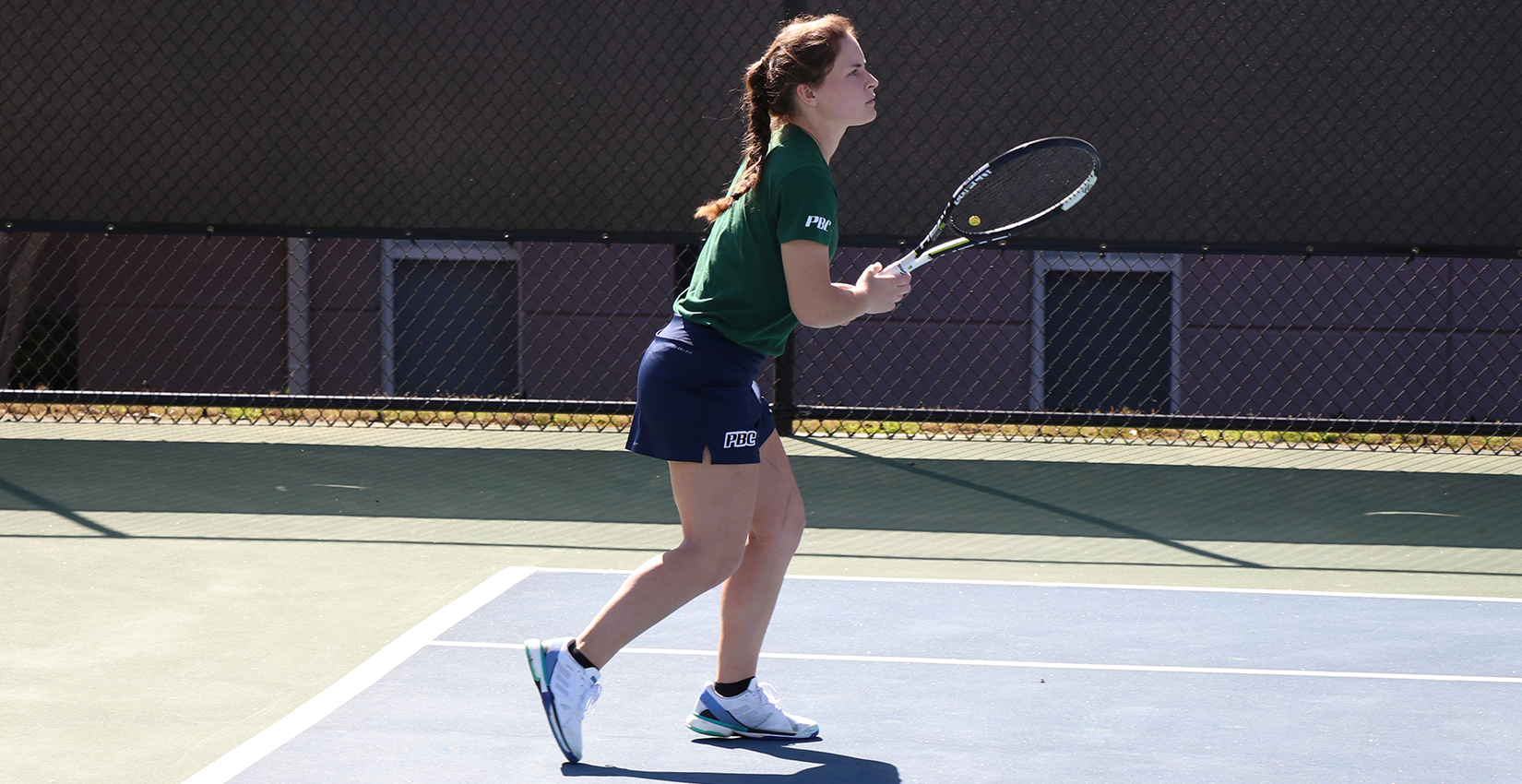 Bobcat Women's Tennis Stays Solid at Home, Defeats Concord, 5-0