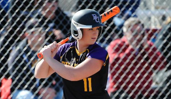 Ashley Gigax hit her team-leading 21st home run of the season in the loss.
