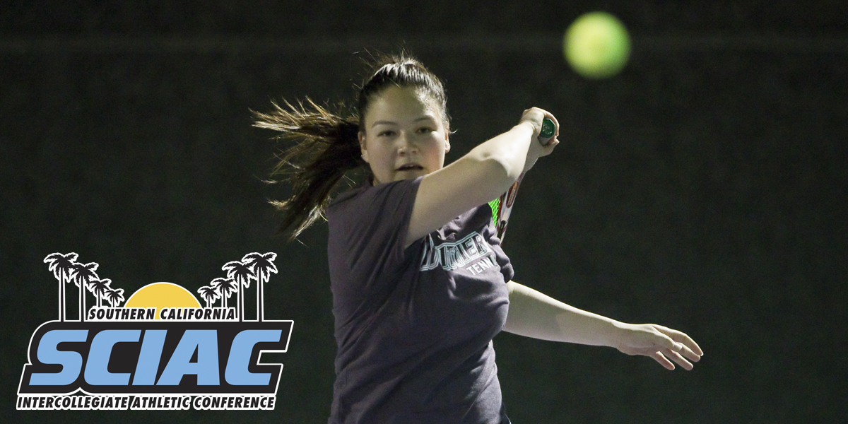 Kindall Yeung named SCIAC Athlete of the Week