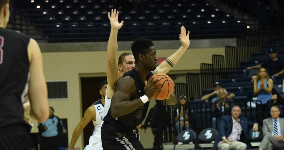 Defensive-Minded San Diego Outlasts Men's Basketball, 66-58