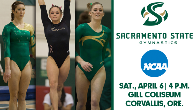 THREE GYMNASTS TO COMPETE AT NCAA CORVALLIS REGIONAL ON SATURDAY