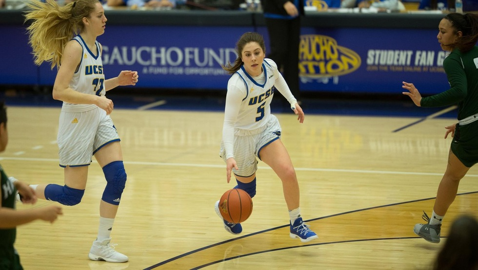 Gauchos Escape with 59-52 Win at Fullerton