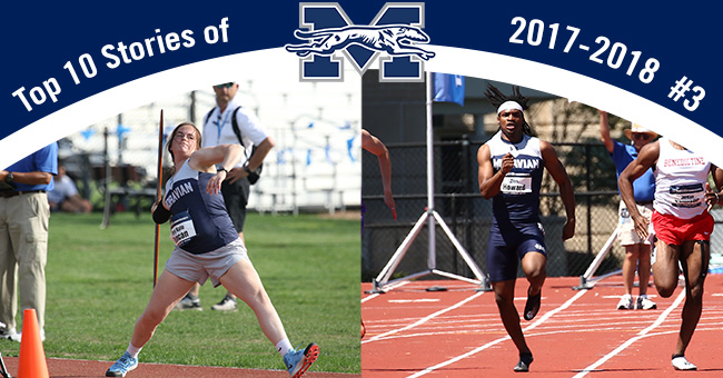 No. 3 on the Top 10 Stories of 2017-18 is Mary Kate Duncan '18 and Zion Howard '21 earning All-America honors.