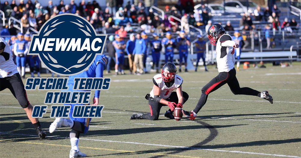 Bartlett Earns Second NEWMAC Weekly Honor