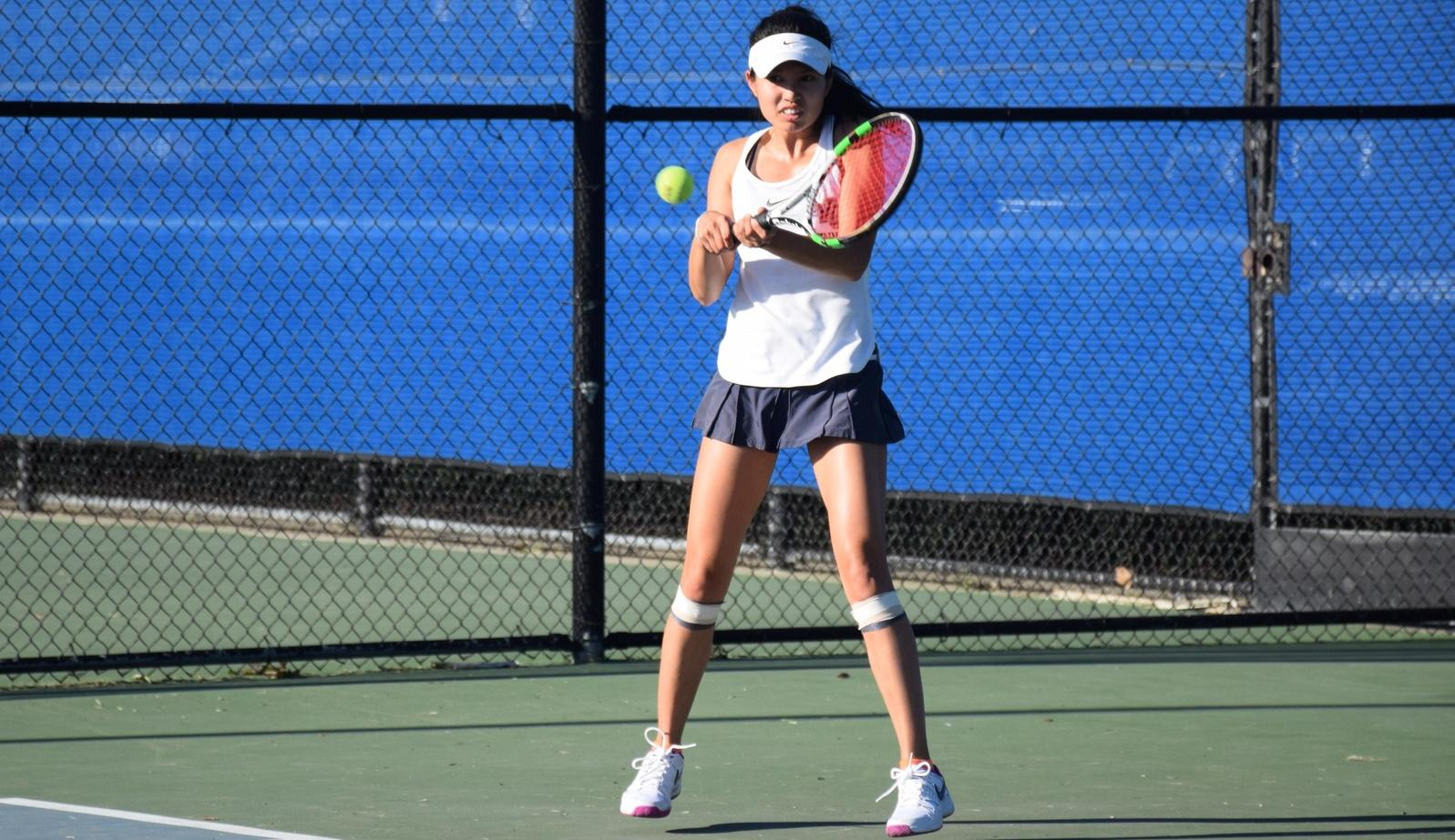 Women's tennis team preps for conference with 9-0 victory