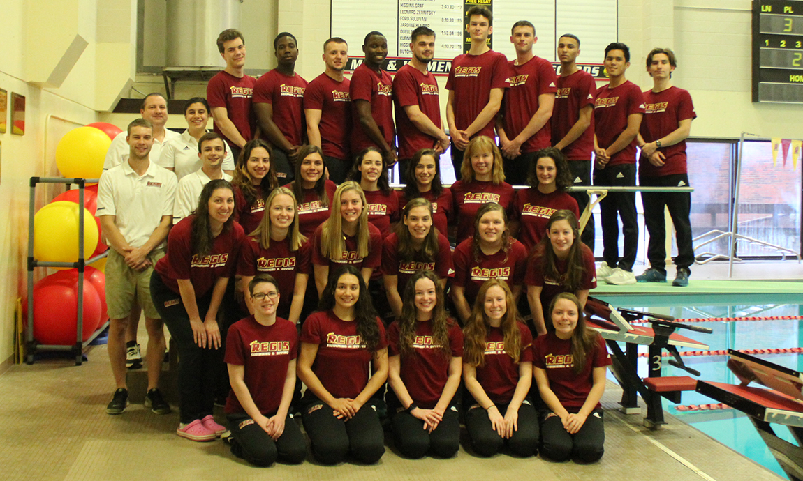 Pride Swim & Dive Teams Off to Strong Start at NEISDA Meet