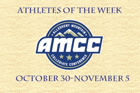 AMCC Athletes of the Week - November 6th